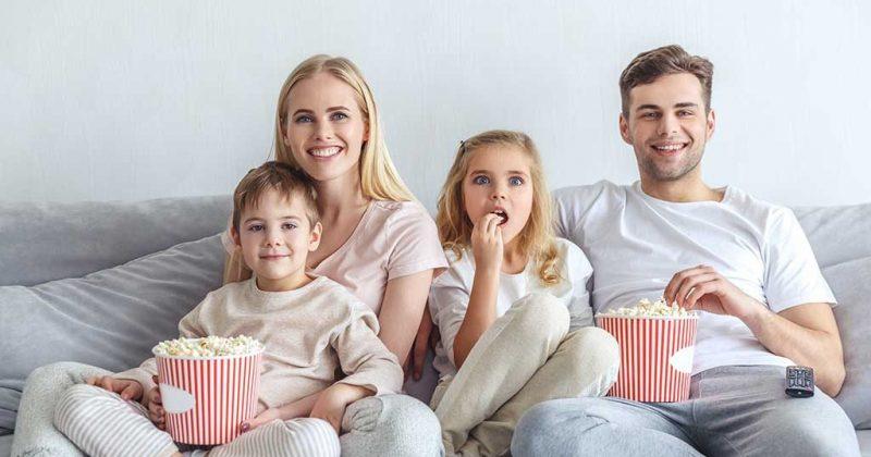 การดูหนังจะช่วยทำให้เราลืมความเครียดได้